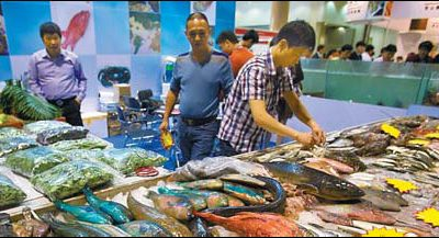 China's Seafood Imports Surge Again in July